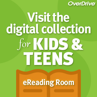 OverDrive Kids and Teens EReading Room Logo