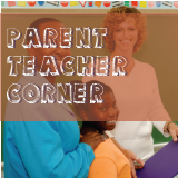 A teacher, a parent and a child