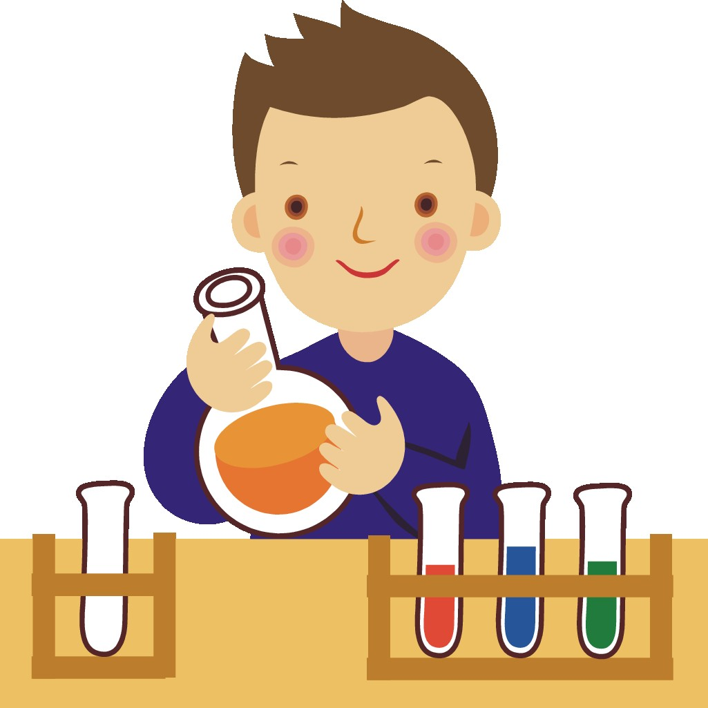 Boy with Beaker