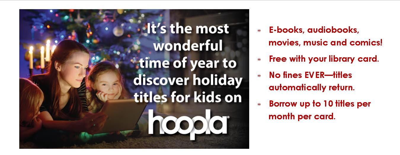 hoopla holiday kids